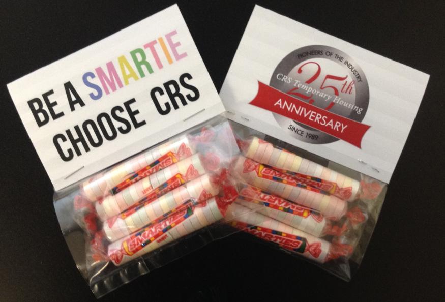 Be A Smartie, Choose CRS