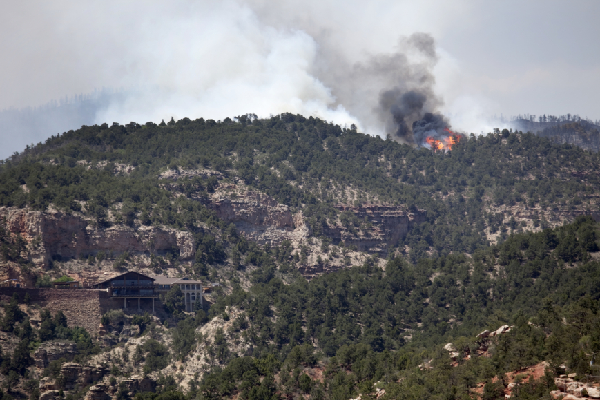 Large-building-and-forest-fire- iStock_000020723263Medium