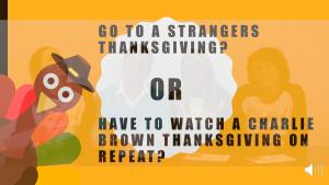 strangers TG or charlie brown