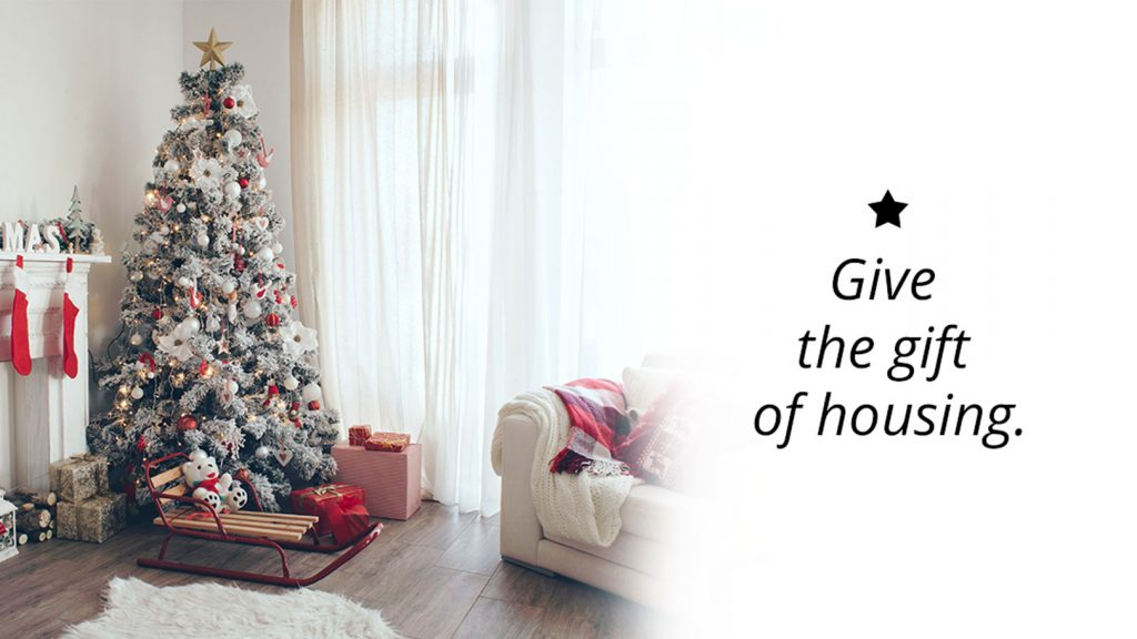 Give the Gift of Housing